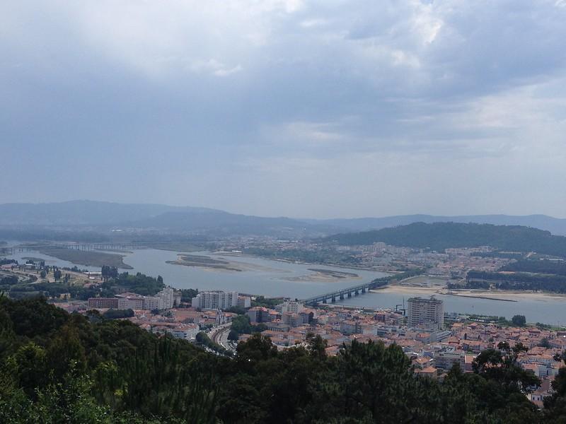 Vista panorâmica de Viana do Castelo