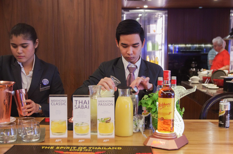 evening cocktails - hilton sukhumvit bangkok