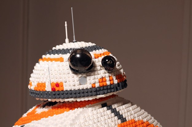 LEGO BB-8 head on Flickr by Henrik Lorentzen