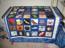Small Of Harry Potter Quilt