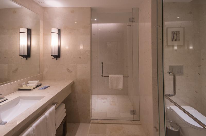 Bon Bathroom At Hilton Kota Kinabalu