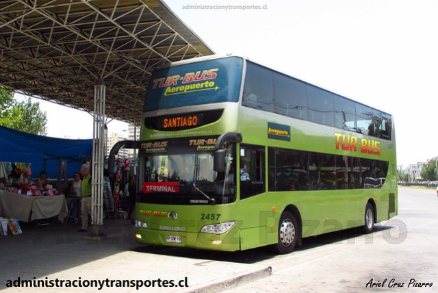 Tur Bus Aeropuerto | Pajaritos | King Long XMQ6110GS2 / FPDW10 - 2457