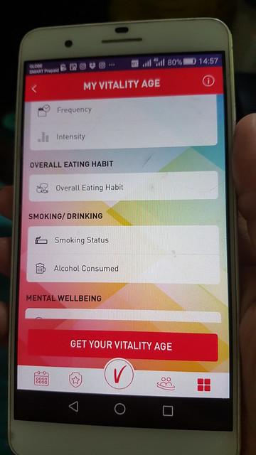 Philam Vitality app