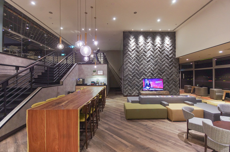 library lounge at aerotel singapore