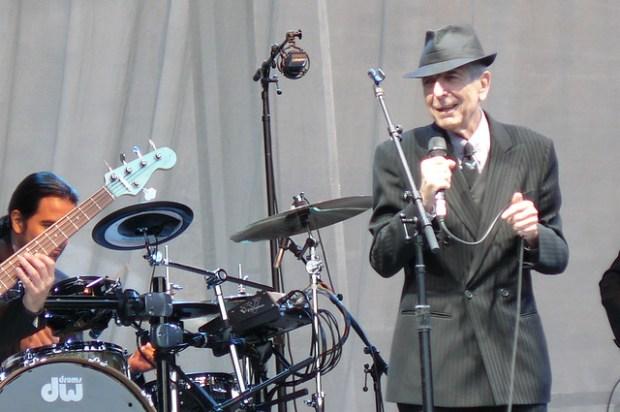Leonard Cohen, Edinburgh Castle