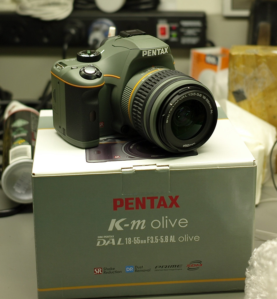 Mind Pentax Olive Limited Kit By Caparobertsan Pentax Olive Limited Kit I Had Travelled All Way Flickr K M Camera Reviews K M Camera Used dpreview Km Camera