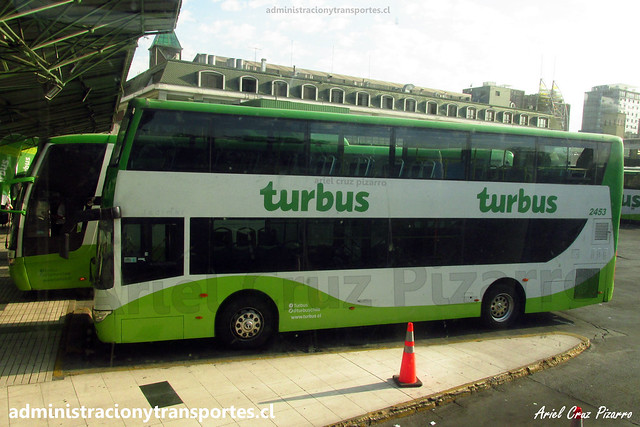 Tur Bus Aeropuerto | Santiago | King Long XMQ 6110 GS2 / 2453