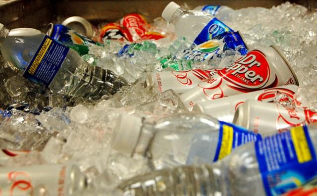 Ice Ice drinking