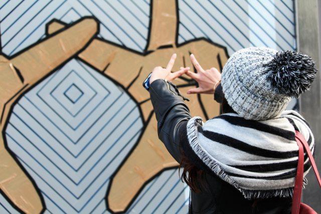 The haus musée street art