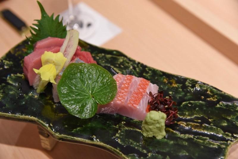 assorted sushi nami