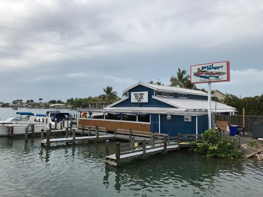 Nauti Parrot Dock Bar, Fort Myers Beach, Fla.