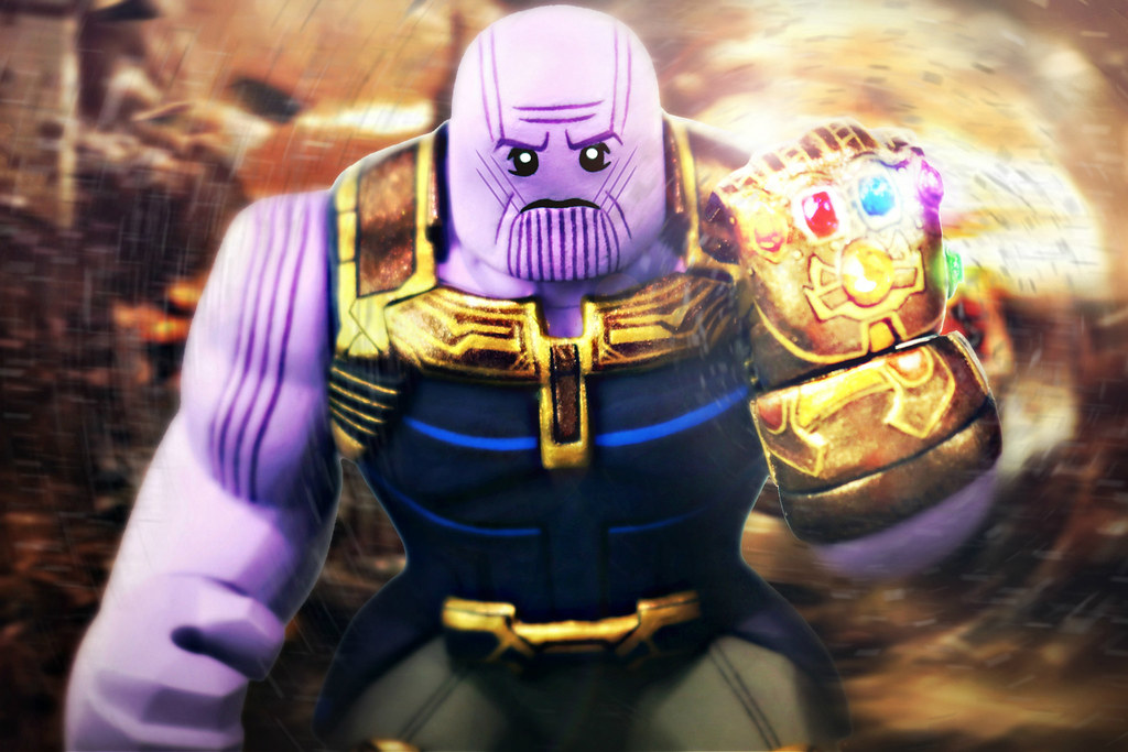 LEGO Avengers  Infinity War   Thanos Preview   Dread it  Run      Flickr     LEGO Avengers  Infinity War   Thanos Preview   by MGF Customs Reviews