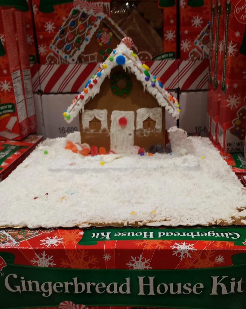 Fullsize Of Gingerbread House Kit