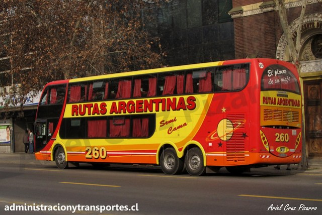 Rutas Argentinas 260 | Santiago, Chile | Metalsur Starbus 1 - Mercedes Benz / HGE069