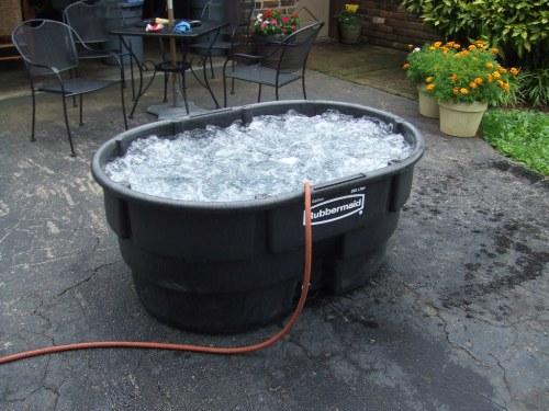 Medium Of Homemade Hot Tub