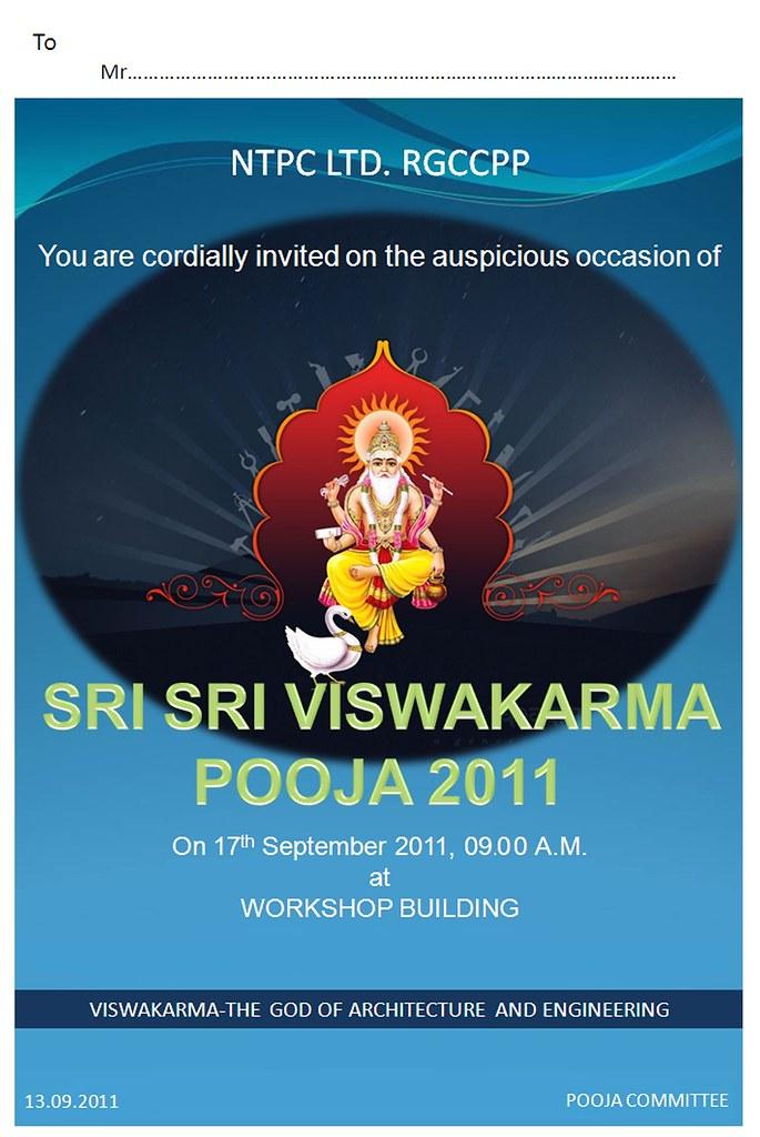 Biswakarma puja invitation letter format best letter free vishwakarma puja invitation card online invitations credit to httpsdesieviteinvitationfestivalsvishwakarma puja stopboris Images
