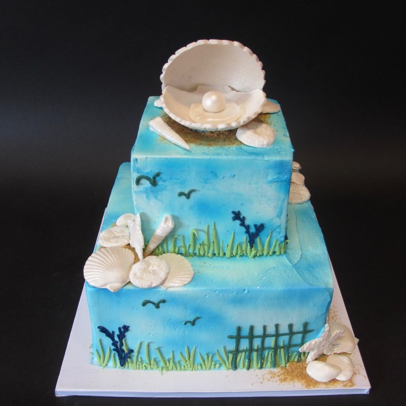 Large Of Beach Themed Cakes