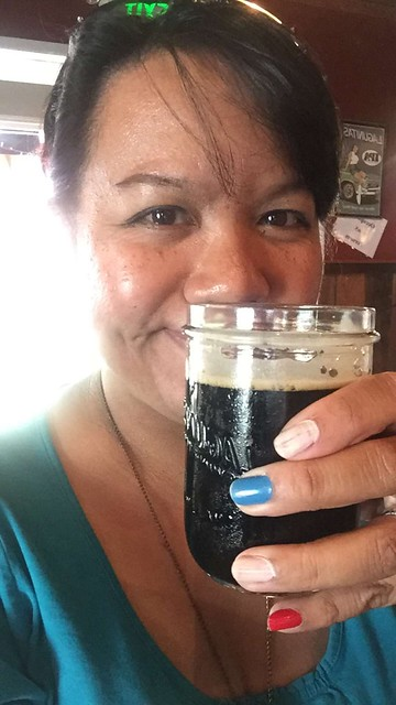 me and my Lagunitas stout