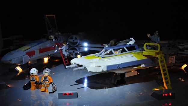 Y-wing and X-wing - In the spotlight