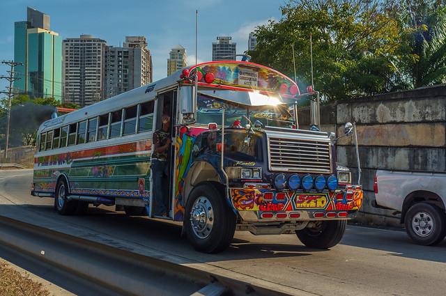 Panamanian Bus