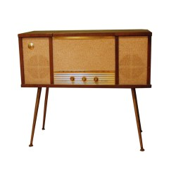 Small Crop Of Record Player Console