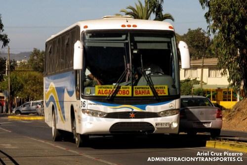 Bahía Azul - Algarrobo - Marcopolo Andare Class / Mercedes Benz (WY6701)