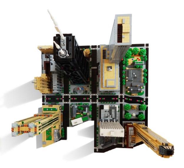 LEGO Chicago Magnificent Mile