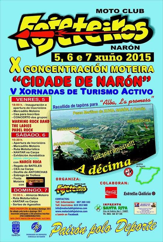 X Concentración Moteira Cidade de Narón (A Coruña)