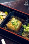 Restaurant Review: Yebisu Izakaya, Sydney CBD. Agedashi tofu, part of Hokkaido Gozen Bento