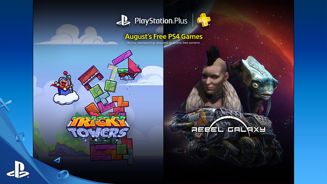 PlayStation Plus: August, 2016
