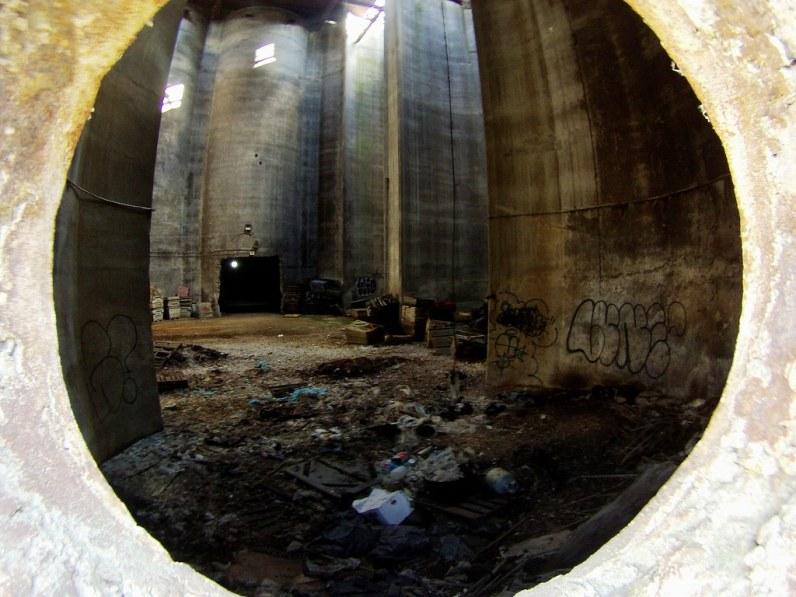 Inside One of Buffalo's Grain Silos, May 1, 2015