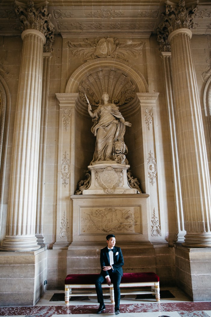 Fashion blogger Bryanboy visits Versailles