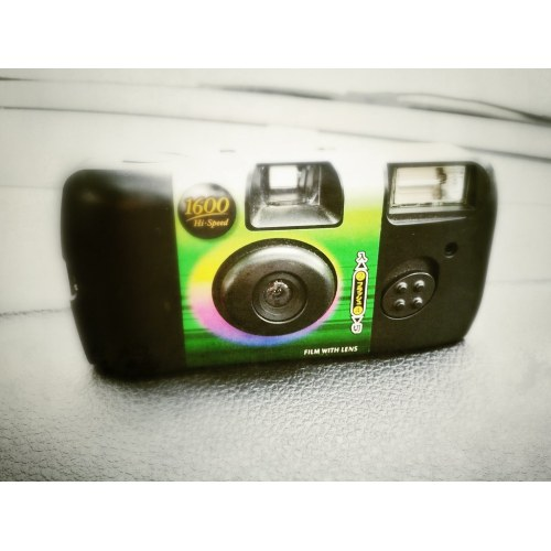 Medium Crop Of Disposable Digital Camera