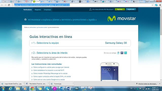 Samsung Galaxy S6 Web