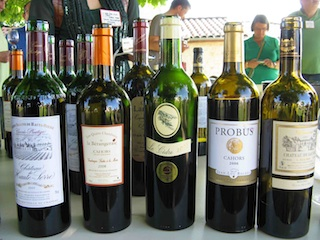 Featured wines at Malbec Days