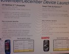 Sprint Sanyo Taho, BlackBerry Style, Dell Mini 10 - Image 4 of 4