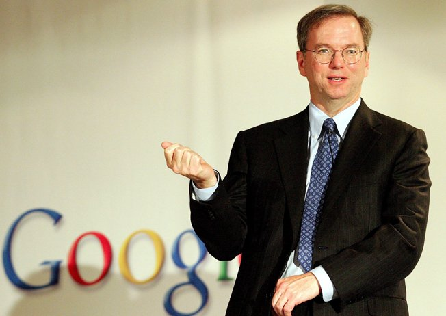 Google's Eric Schmidt Pay