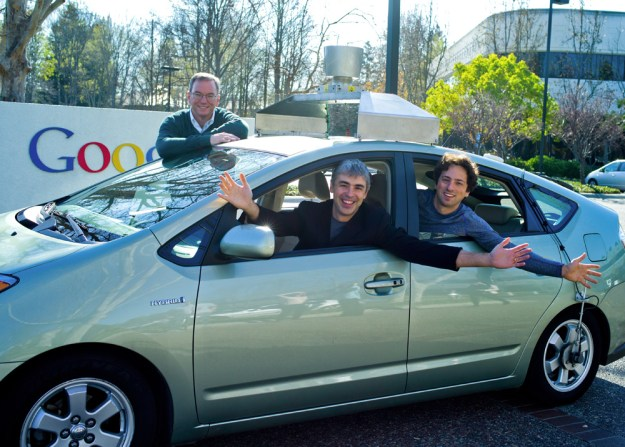 Google Self Driving Car Patent