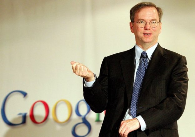Google Chairman Schmidt Interview Censorship