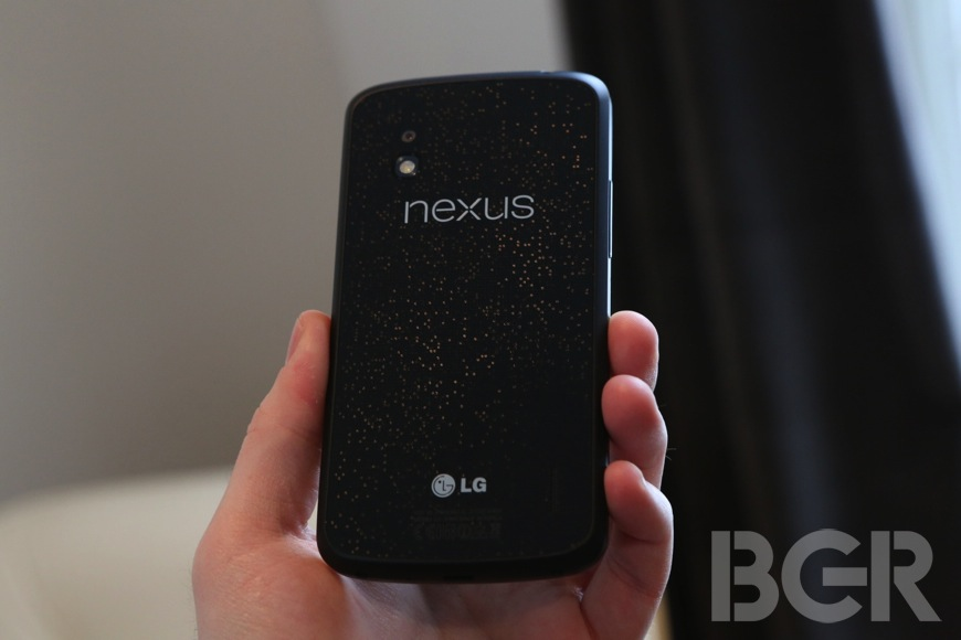 Nexus 4 Sales Total 2012