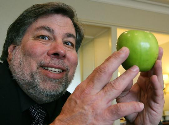 Steve Wozniak Apple Android Phone