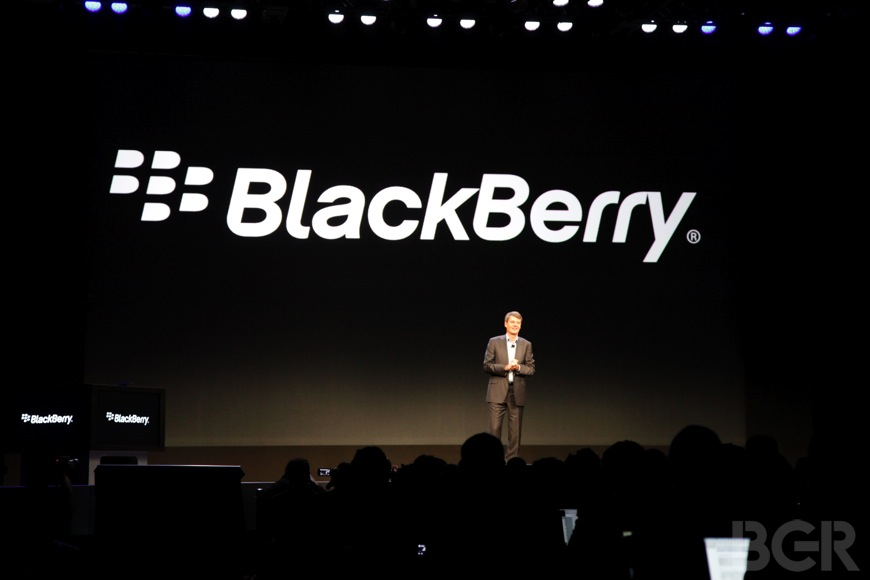 BlackBerry Sales Japan