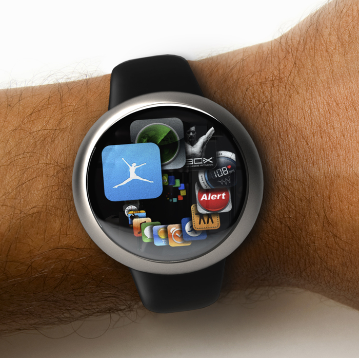 Apple iWatch Renders