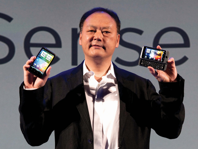 HTC CEO Chou Criticism