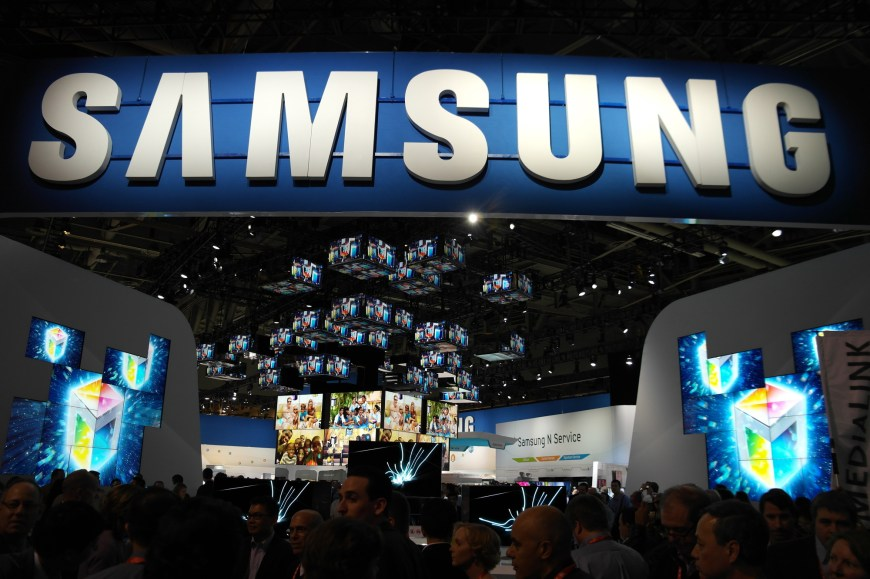 Samsung Marketing Spending Q4 2013