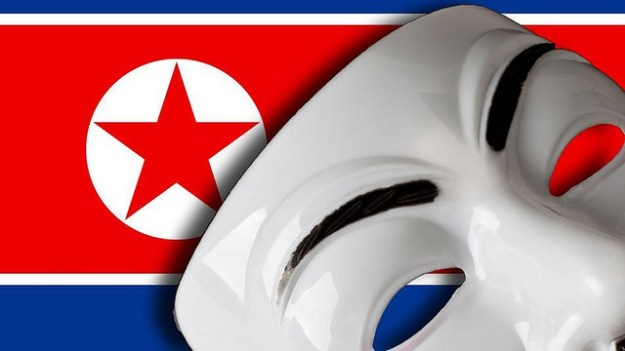 Anonymous North Korea Battle