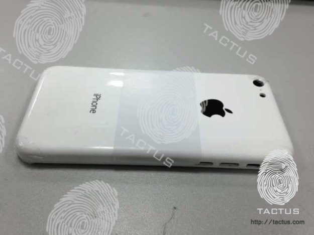 Plastic shell from Apple's upcoming entry-level iPhone possibly pictured for first time