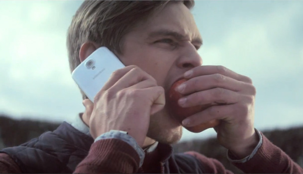 Samsung Commercial Apple Bashing