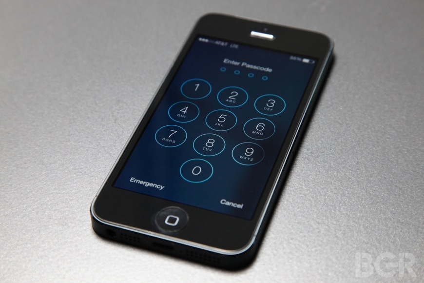 iOS 7 Security Flaw