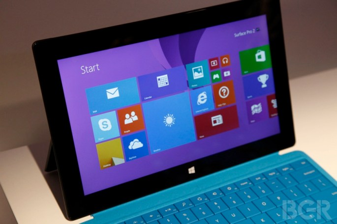 Microsoft Surface 2 Hands-on